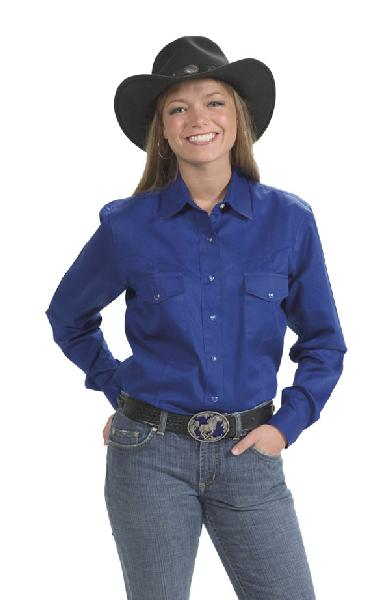 Women's Western Shirt ROYAL